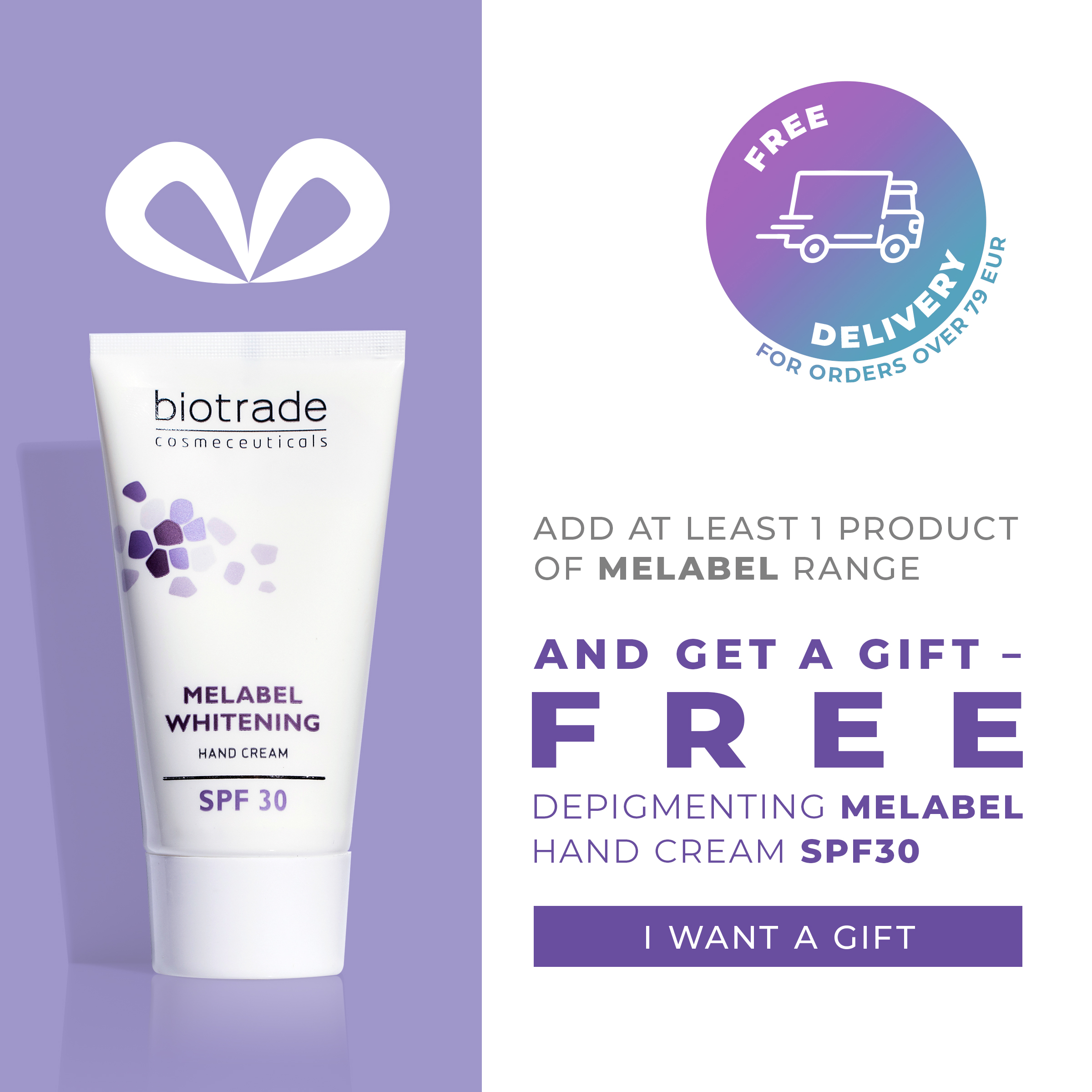 Melabel Hand Cream - campain - EN